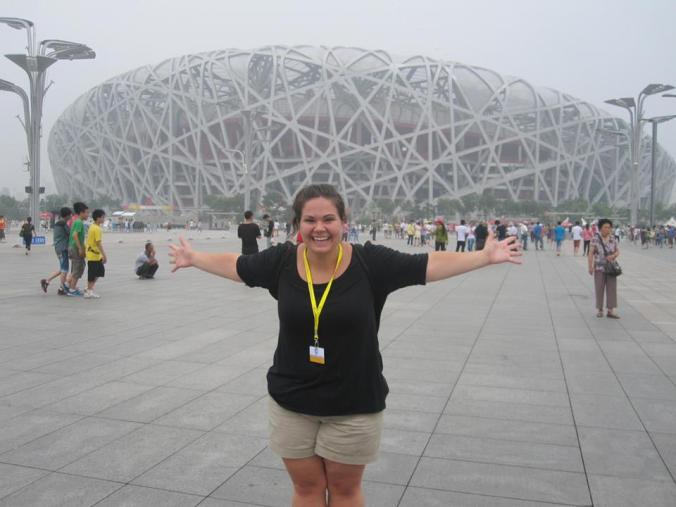 The Bird's Nest Olympic Stadium Beijing